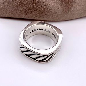 David Yurman Accessories - David Yurman Men Narrow Sculpted Square Ring